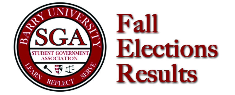 SGA Fall Elections Results