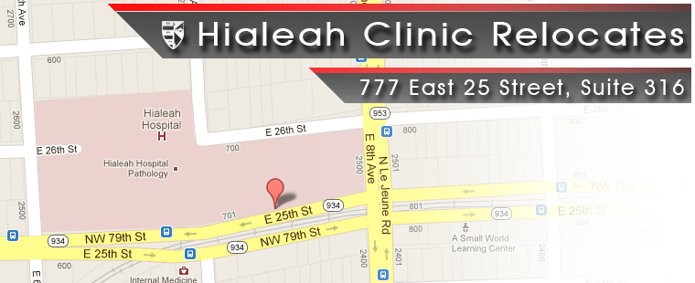 Hialeah Clinic Relocates