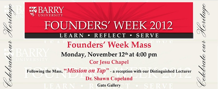 Founders' Week: Monday, Nov. 12 – Founders' Day Mass & Mission on Tap