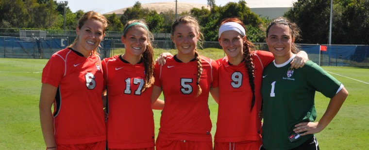 Women's Soccer 2012 Senior Day Comes On Saturday