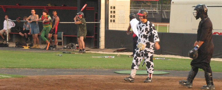 Baseball Set For Annual Halloween Scrimage