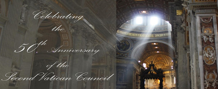 Monsignor William Barry Memorial Library celebrates the Vatican Council II