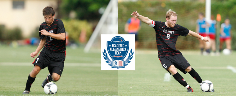 Men's Soccer Lands Two On Academic All-District Team