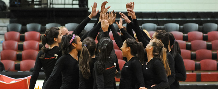 Bucs Volleyball Holds Serve in Comeback Victory