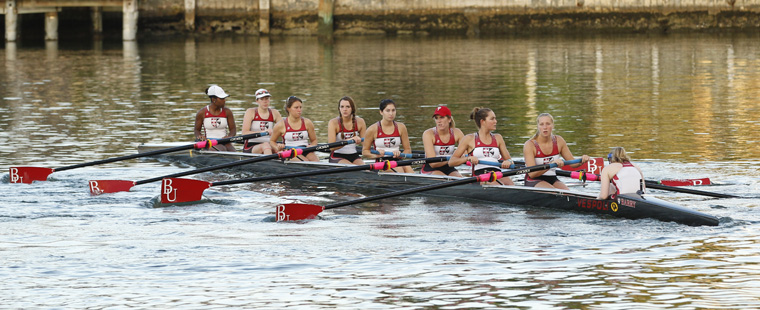 Rowing: Bucs Open 8 Unit 5th at Head of Hooch