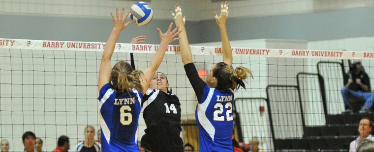 Bucs Volleyball Sunk by Sailfish