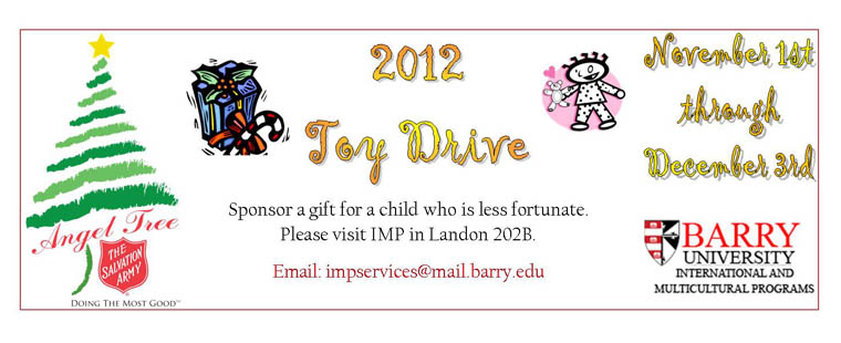 2012 Angel Tree Toy Drive