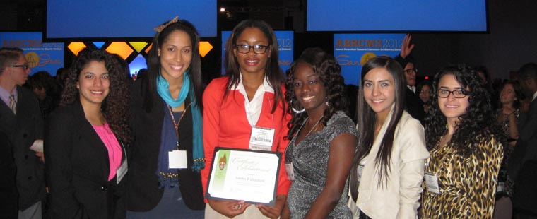 Barry biology majors receive awards at Biomedical Research Conference