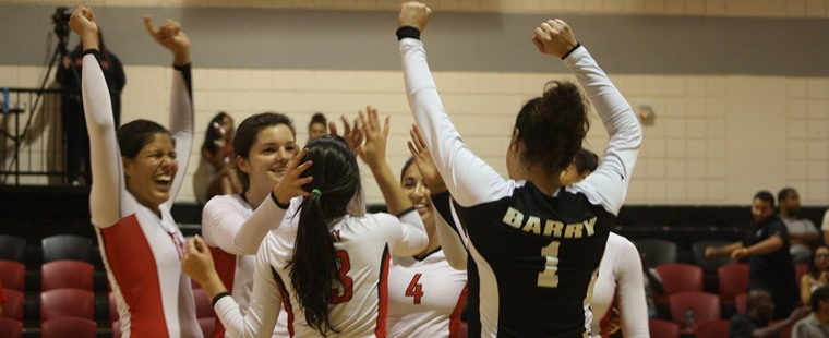 Bucs Trump Tritons in Marquee Volleyball Win