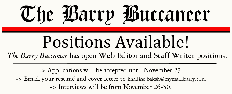 The Barry Buccaneer Recruitment