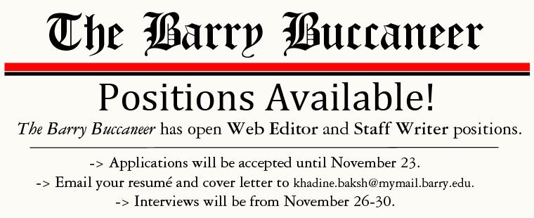 The Barry Buccaneer Recruitment
