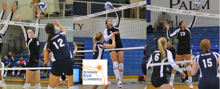 Bucs Trio Collect Volleyball All-SSC Honors