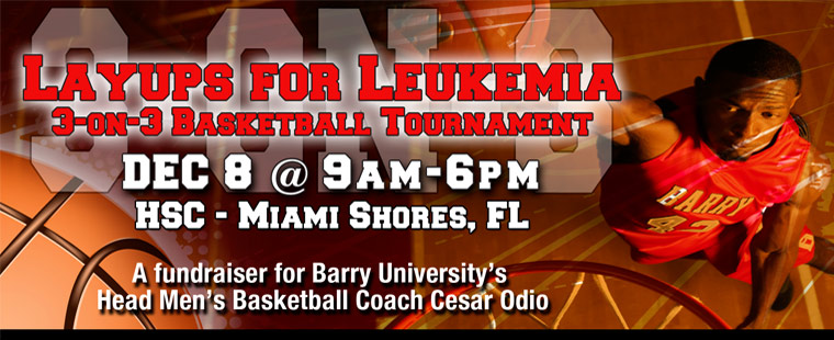 Layups for Leukemia 3-on-3 Basketball Tournament