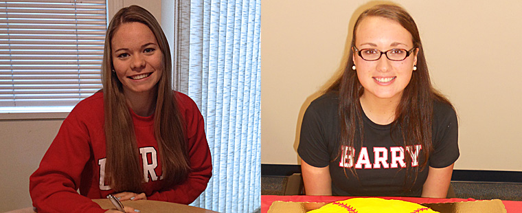 Softball Adds Early Pair
