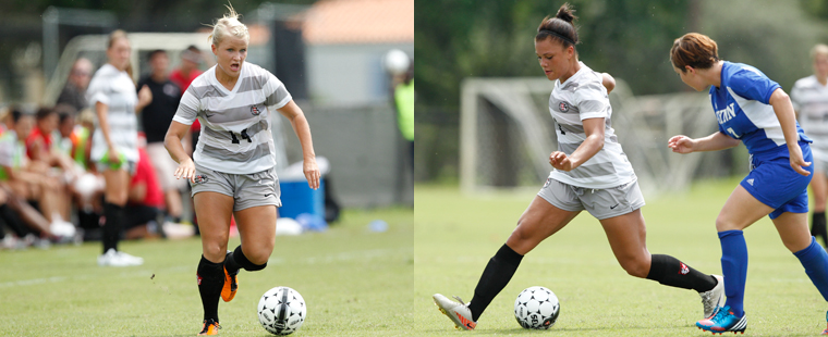 Women's Soccer Puts Three On All-Region Teams
