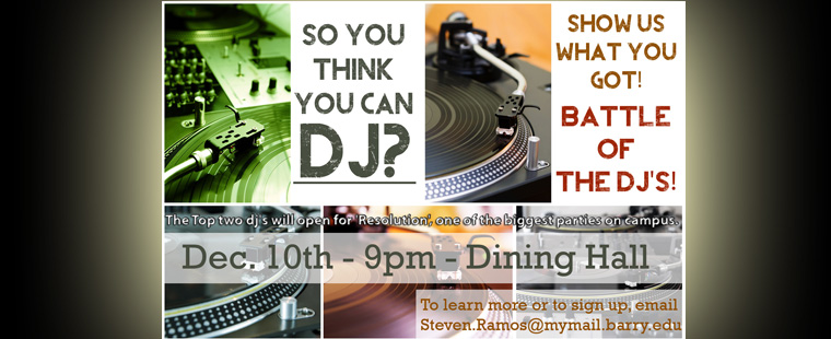 Think you can DJ? Can you make the crowd dance like there is no tomorrow?
