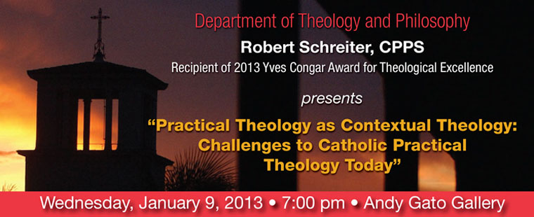 Department of Theology and Philosophy presents: