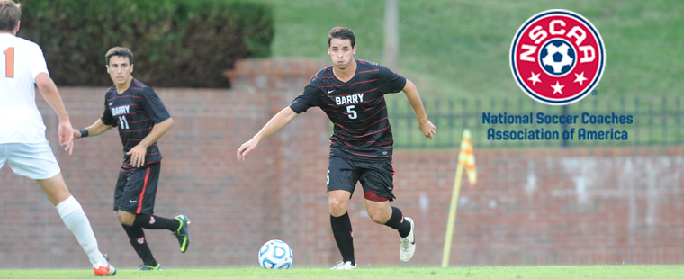 Men's Soccer Standout Selected To 2012 NSCAA Scholar All-America Team