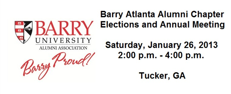 Atlanta Barry Alumni Chapter Elections