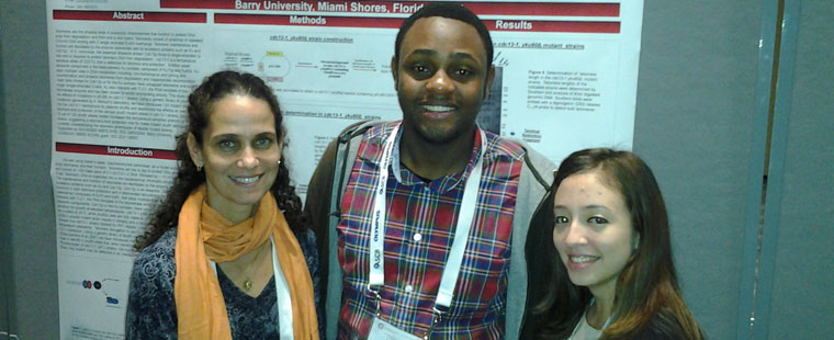 Barry students present at ASCB Annual Meeting