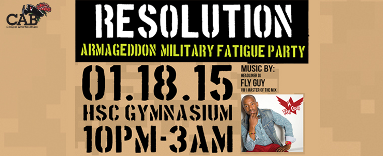 Resolution: Armageddon Military Fatigue Party