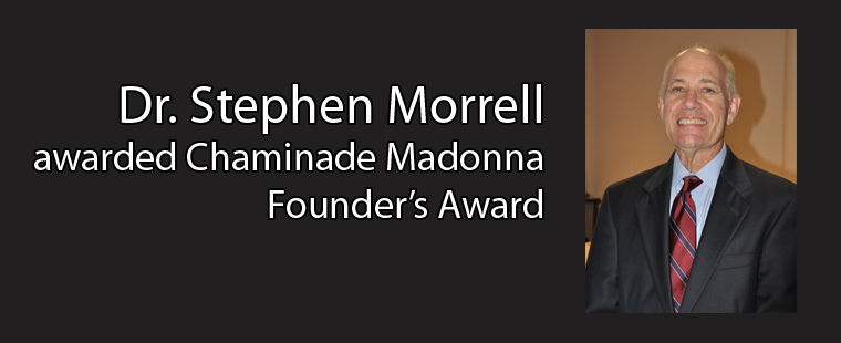 Barry professor Dr. Stephen Morrell awarded Chaminade Madonna Founder's Award