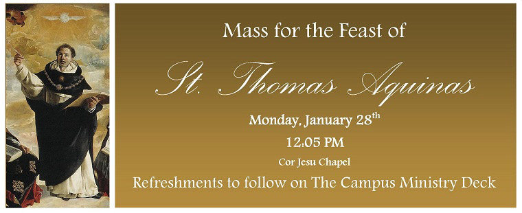 Mass for the Feast of Saint Thomas Aquinas