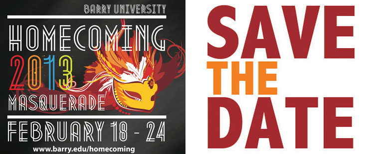 Save the Date: 2013 Homecoming Week