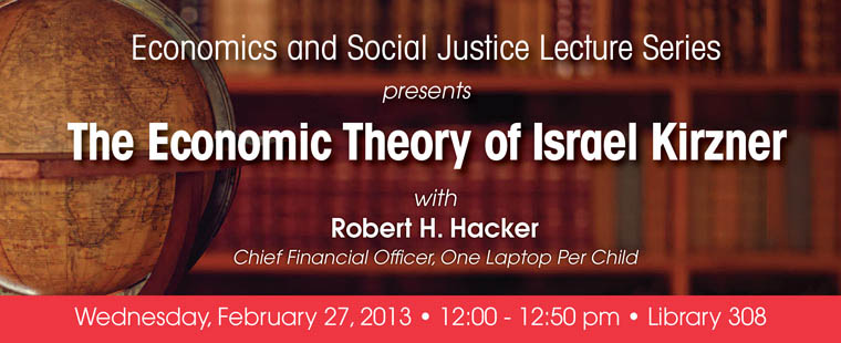 Economic and Social Justice Lecture Series: