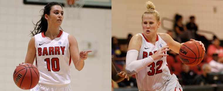 Eule and Perez Earn Women's Basketball Academic All-South Region