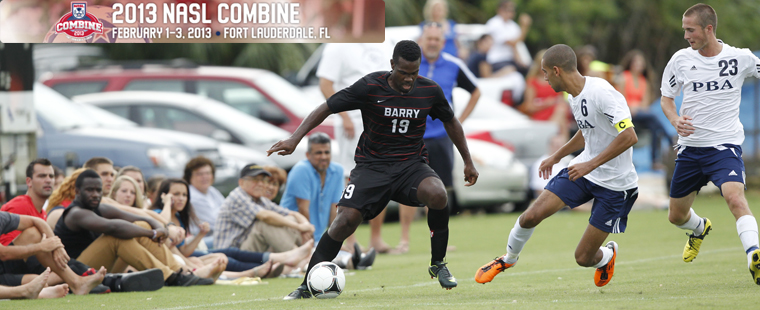 Men's Soccer Kendall Sealy Participates In NASL Combine