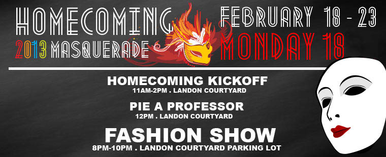 Homecoming 2013 – Monday, Feb. 18