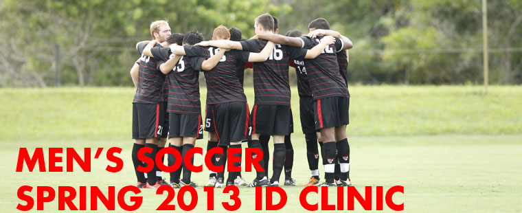 2013 Men's Soccer ID Clinic