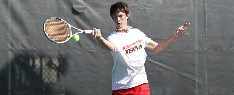 Men's Tennis Opens with Win Over Panthers