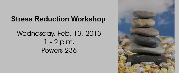 Stress Reduction & Relaxation Workshop