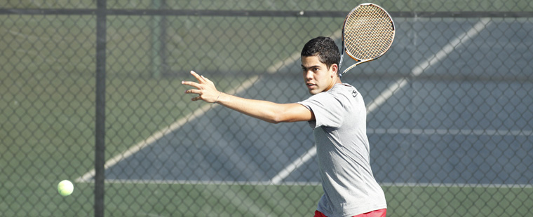 No. 4 Men's Tennis Hosts No. 6 Rollins in Home Opener Sunday