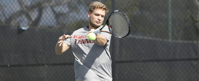 No. 4 Men's Tennis Rolls by No. 6 Rollins