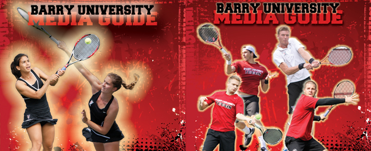 Tennis Media Guides Available