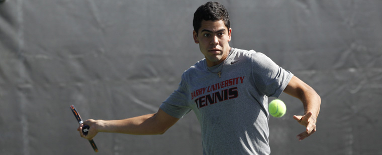 Men's Tennis Sweeps Florida Southern