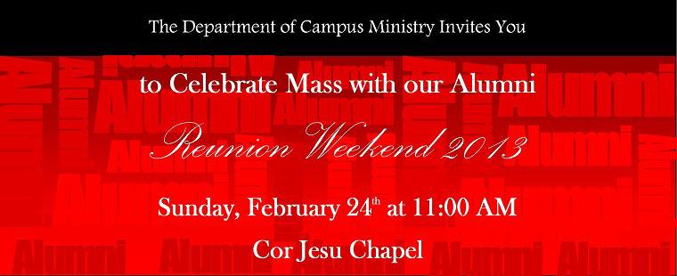 Alumni Mass