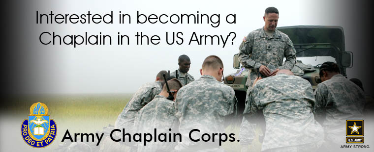 US Army Chaplain Corps. information session