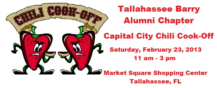 Tallahassee Barry Alumni Chili Cook-off