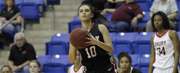 Women's Basketball Cruises To Homecoming Win