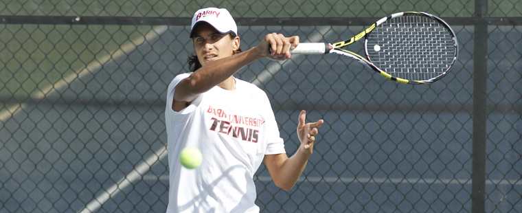 No. 4 Men's Tennis Stops No. 12 Saint Leo