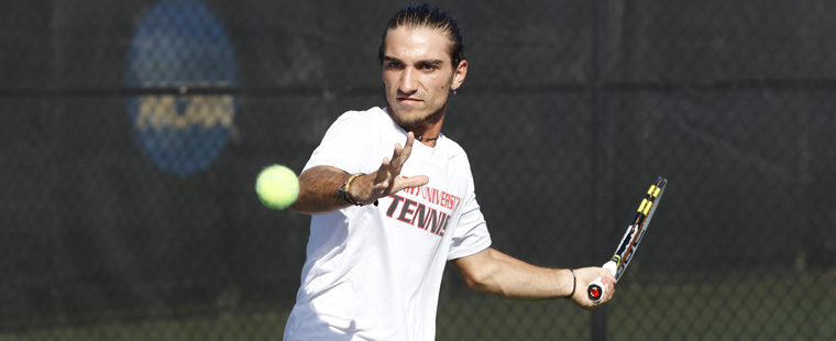 Men's Tennis Hosts No. 9 Augusta State Tuesday