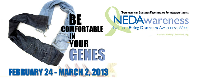 National Eating Disorders Awareness Week 2013