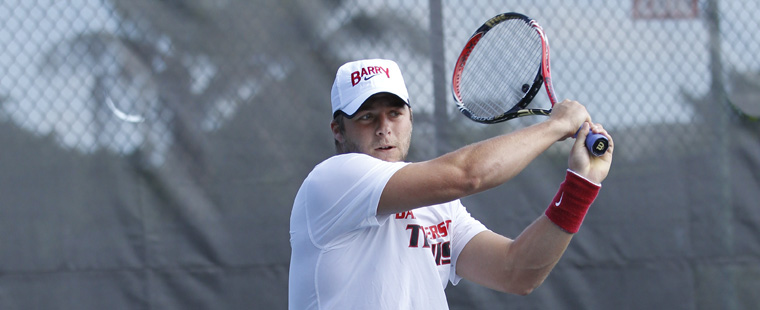 Victorious Over Valdosta: Men's Tennis Wins Again