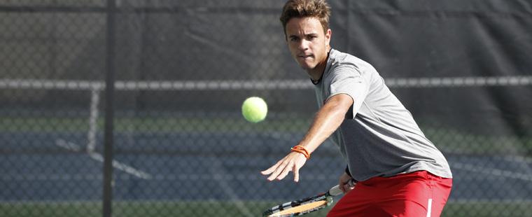 Weekend 'Statement': Men's Tennis Handles Business