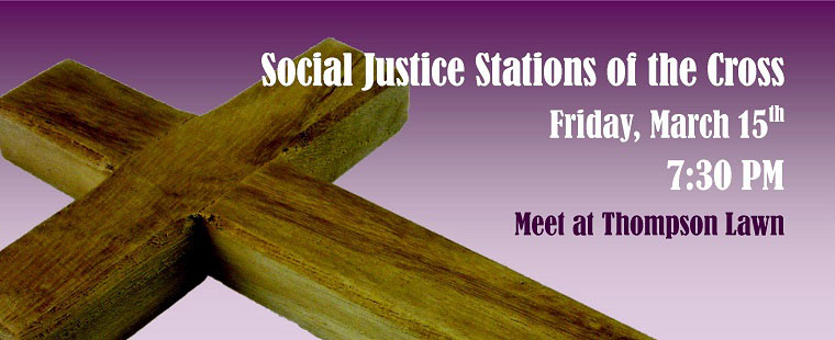 Social Justice Stations of the Cross