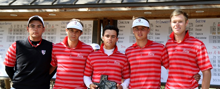 No. 1 Men's Golf Runner-up at St. Edward's Invitational